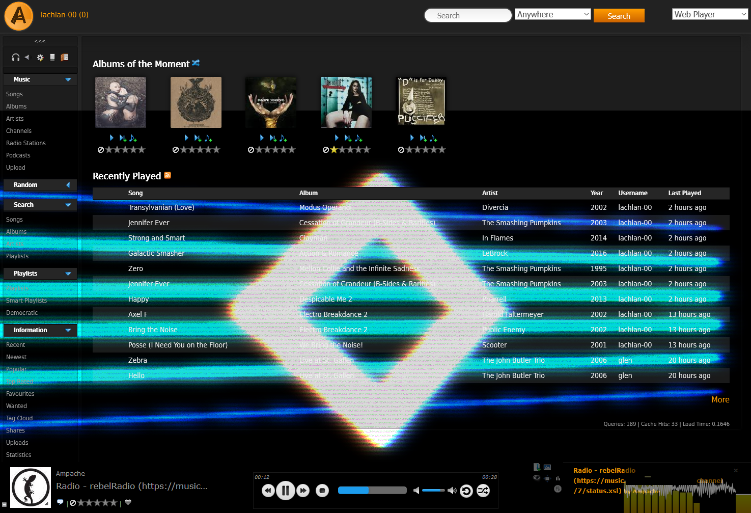 Ampache - Music Streaming Server